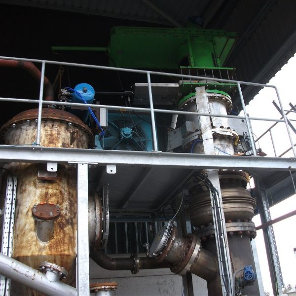 140 kw Gasification and CHP Plant
