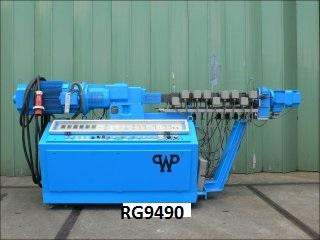 25mm Werner & Pfleiderer ZSK-25 P 8.2E Twin Screw Extruder