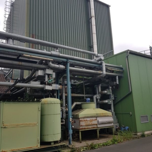 Esterfication Plant 30,000 TPY with 10.2 MW CHP Plant