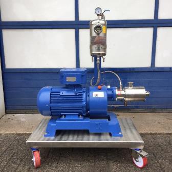 5.5 kW IKA Janke & Kunkel Type DR 3-6/666-P Continuous Dispax Reactor