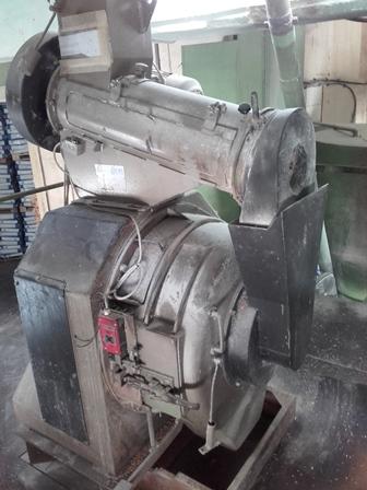 60 HP Andritz Model V3-75 Pellet Mill