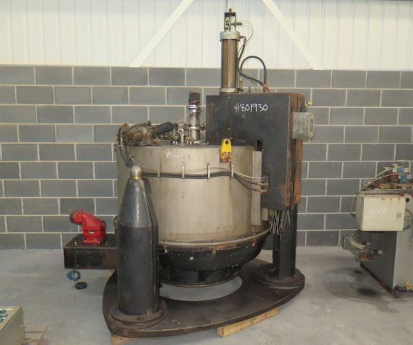 48″ X 24″ Broadbent Type 46A Stainless Steel Basket Centrifuge