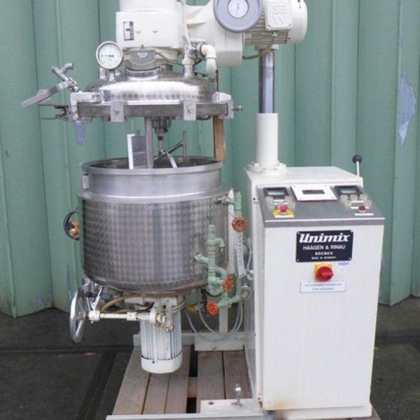 38 Gallon 9 HP Haagen & Rinau SR-100 Stainless Steel Plantary Mixer
