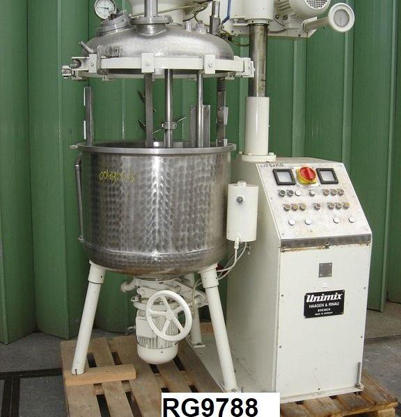 44 Gallon 4 HP Haagen & Rinau SR-200 Stainless Steel Planetary Mixer