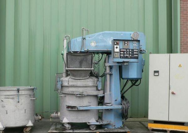 7 kW Niemann Model KDV-1000 95 Stainless Steel Dissolver