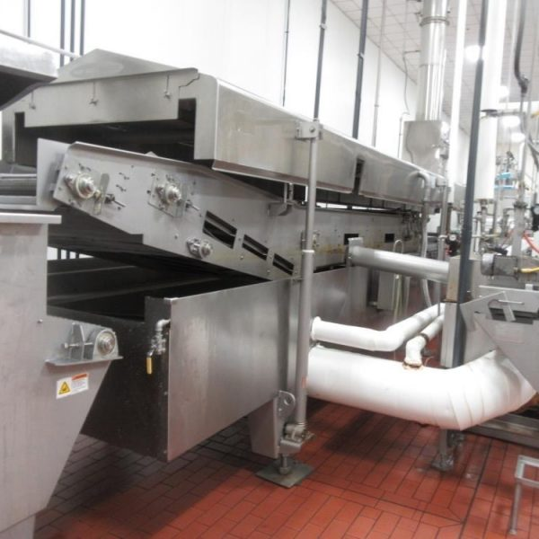 Heat and Control Snack Chip / Crisp Line with Capacity 900 kg/hr