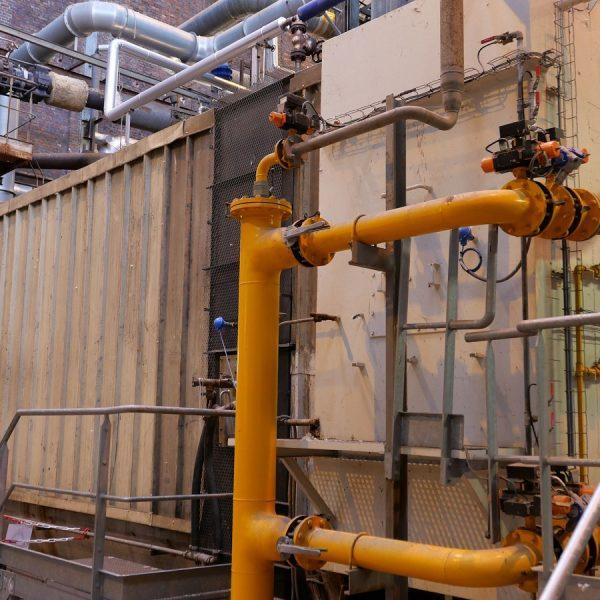 187,393 #/Hour 261 PSI Stein Industry Boiler