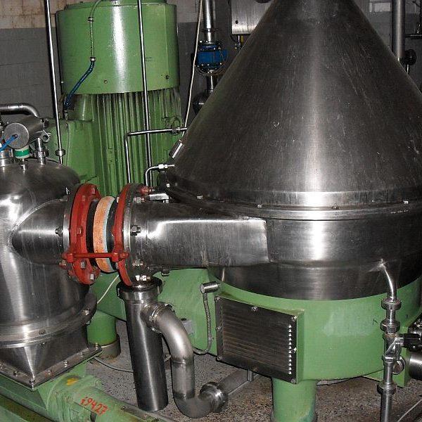 Westfalia HSA 200-06-777 Stainless Steel Centrifuge