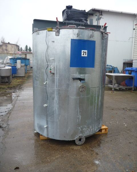 3000 Litres 304 Stainless Steel Mixing Tank