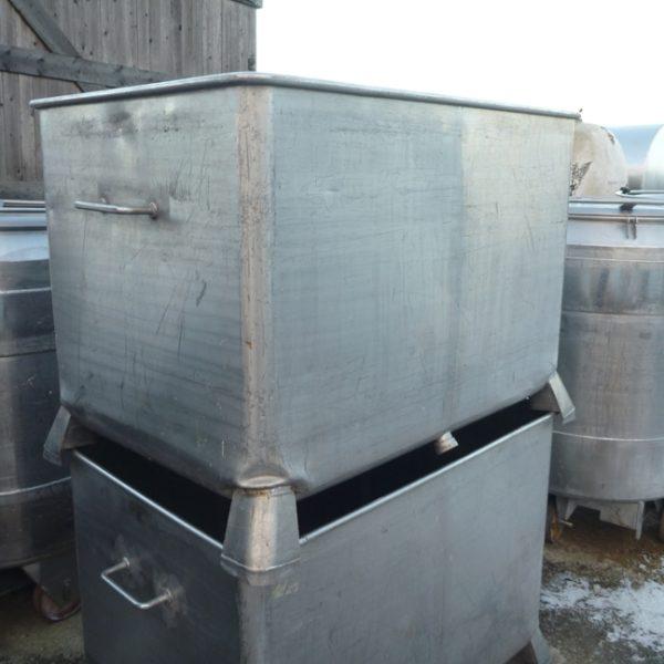 760 Litres Stainless Steel Rectangular Storage Tank 1200mm Wide x 800mm Long x 800mm Deep