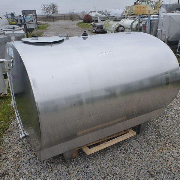 3000 Liter Stainless Steel Storage Tank, 1760mm X 1270mm X 1935mm