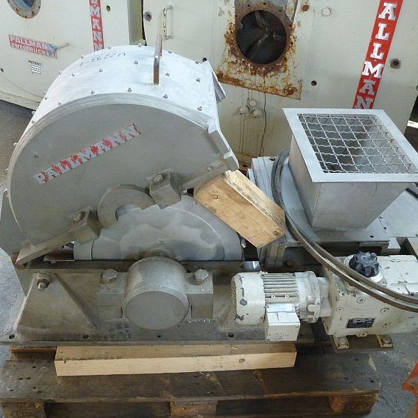 75 KW Pallmann Type PHM 600-350 Stainless Steel Hammer Mill