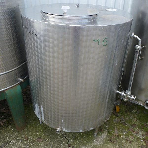 700 l vertical stainless steel mixing tank