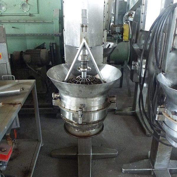 Metalchem Torun (Poland) Type PGM/K Stainless Steel vertical rotor granulator