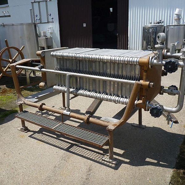 15.8 m2 Carlson Filter Press Type Plate Frame