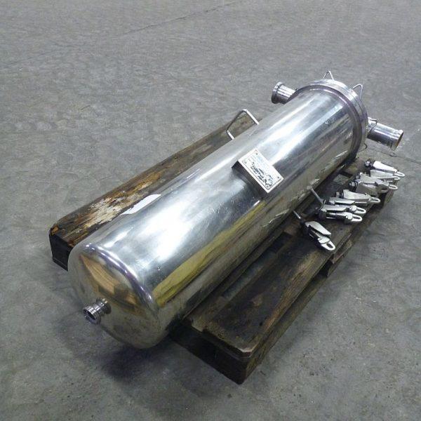 Stainless Steel Cartridge Pressure Filter Sartorius 59 l, 10 Bar