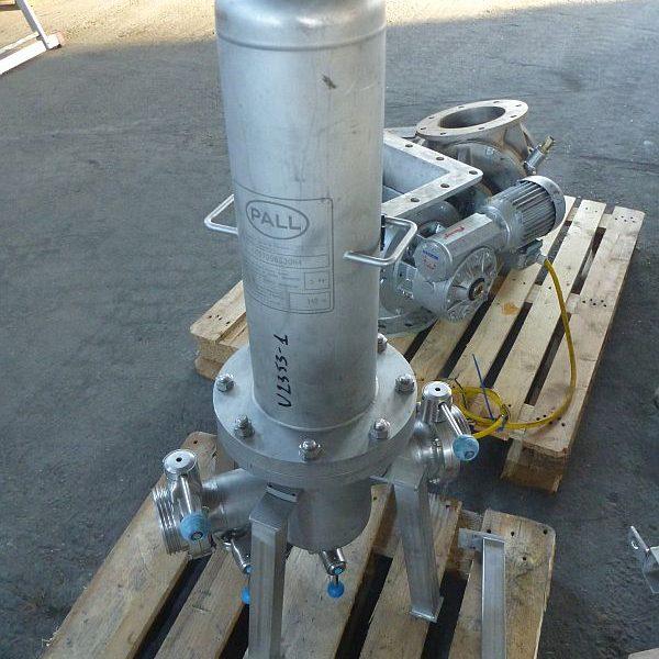 Stainless Steel Cartridge Pressure Filter Pall 13L/5Bar/140C