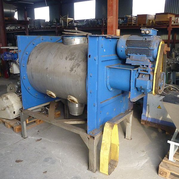 750 Liter Stainless Steel Ploughshare Mixer