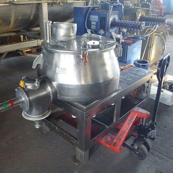 250 Liter Stainless Steel Universal Mixer