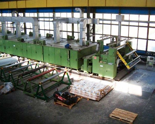 87″ (2400 MM) Famatex ATCL Automatic Textile Coating Line