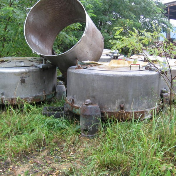 59″ X 18″ Stainless Steel Perforated Basket Centrifuge