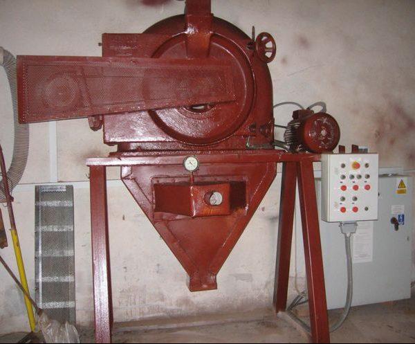 Rebuilt Carbon Steel Pin Mill Alpine Contraplex 250 CW 7.5/15 kW