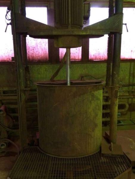 45 kW Polish Made Dissolver 1000 Liters