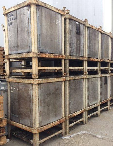 1,000 Litre Stainless Steel Rectangular Storage Tank