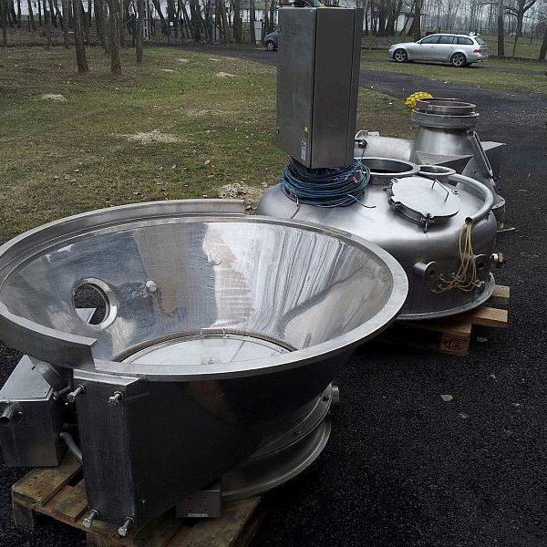 Glatt Model WSG-CD 120 Stainless Steel Fluid Bed Dryer