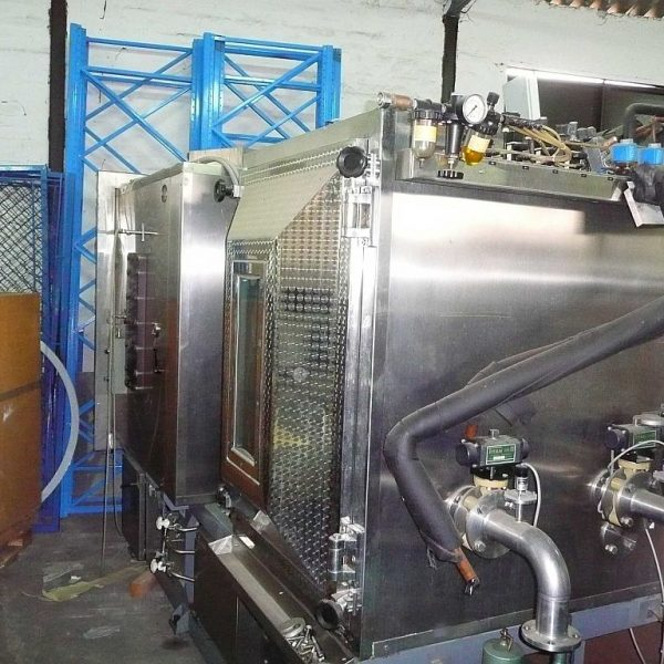 5.8m2 6 Shelves Criofarma (Italy) Mdl 30.000s Stainless Steel Freeze Dryer