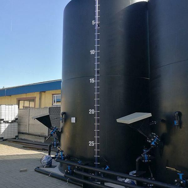 30 000 PE-HD Vertical Storage Tank