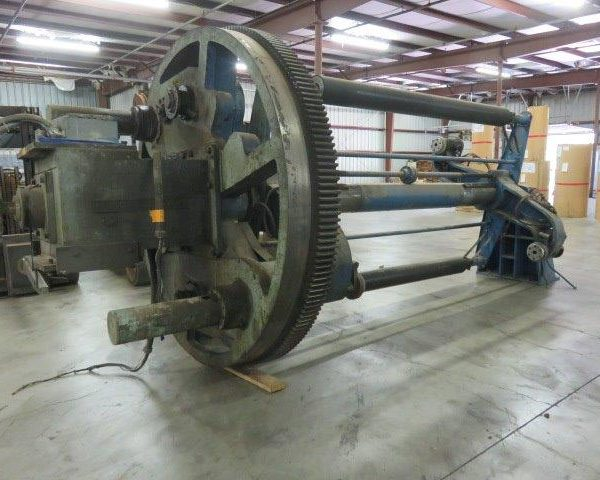 100″ Black Clawson Shaftless Turret Winder with Flying Splicer