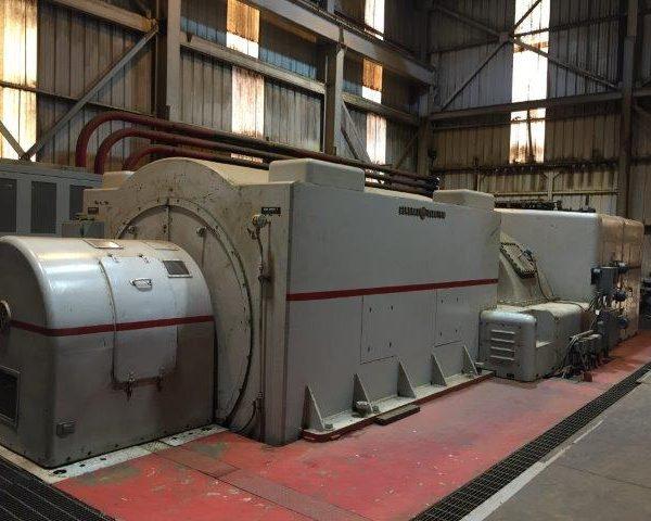 15000 kW 425 PSI General Electric Turbogenerator Condensing