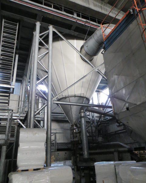 "24'11"" X 26′ 304 Stainless Steel ICF FM//2000/UP Spray Dryer"