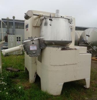 600 Litre Baker Perkins Stainless Steel Mixer Granulator