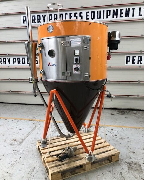39″ X 4′ Stainless Steel APV Anhydro Lab S1 Spray Dryer