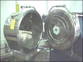 12″ Heinkel HF300 Inverting Filter Centrifuge