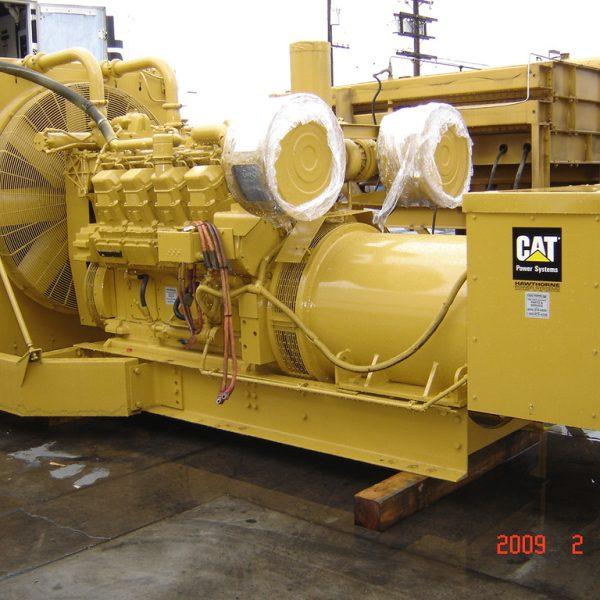 900 kW 480 V 60 Hz Caterpillar Packaged Generator Set