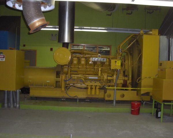 1250 kW 480 V 60 Hz Caterpillar 3512 Diesel Generator Set