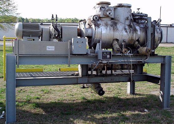 20″ X 5′ Draiswerke K-TR160FM1 Dryer