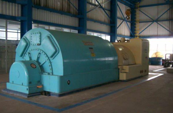 25000 kW 850 PSI Westinghouse Steam Turbine Generator