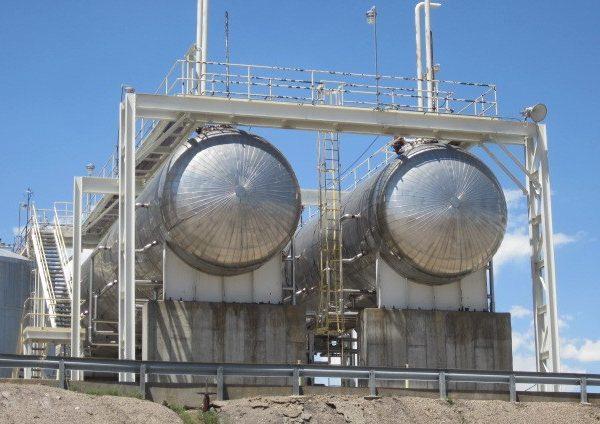 65,000 Gallon Horizontal Carbon Steel Pressure Vessel