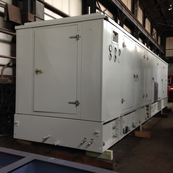 9450 kw Solar Mars 90 Gas Turbine Generating Set