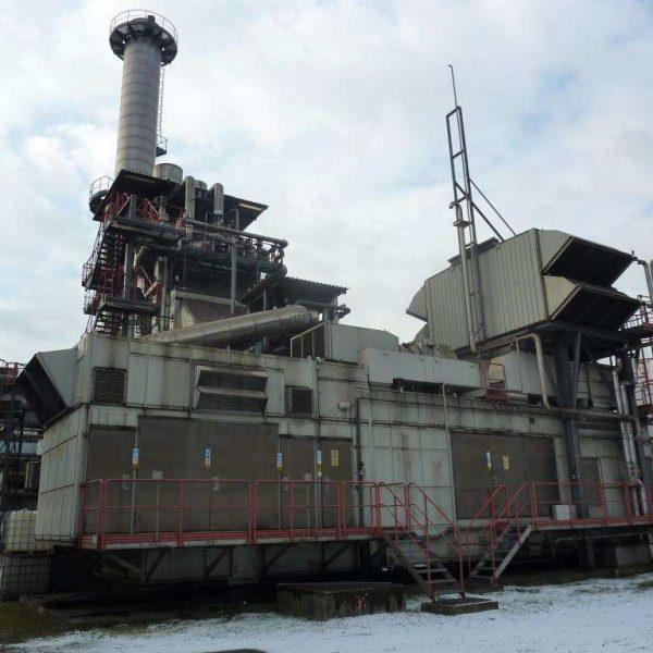 25000 kW 11000 Volts 50 Hz Siemens CHP Plant