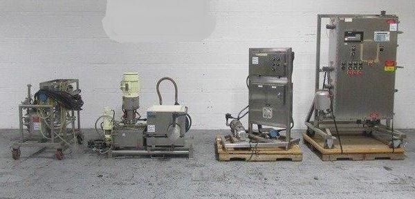 Schugi Flex-O-Mix Mdl FX-100 Stainless Steel Agglomerator