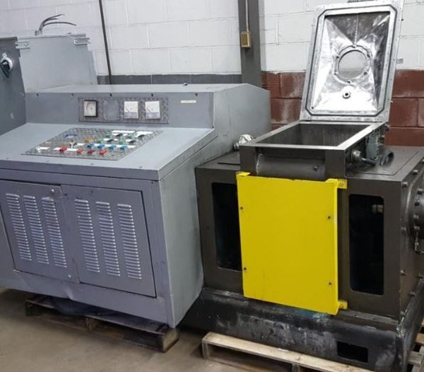 15 Gallon Groupe Lautrette Mdl MBD-90/60 Stainless Steel Jacketed Sigma Blade Mixer Extruder