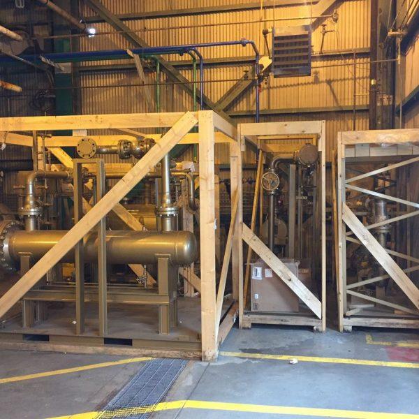830,000 BTU/Hour 150 PSI Fulton Thermal Fluid Heater System