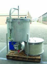 5.5 Sq. Meter 110 Liters Sparkler Horizontal Leaf, Vertical Tank Pressure Leaf Filter