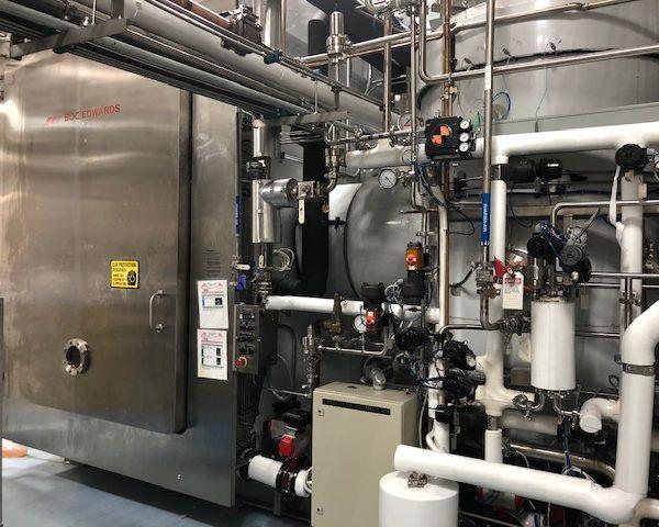 300 Sq. Foot, BOC Edward 316L Stainless Steel Freeze Dryer