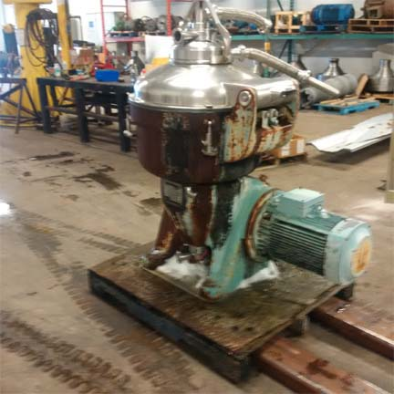 Alfa Laval SRG 214 Stainless Steel Centrifuge